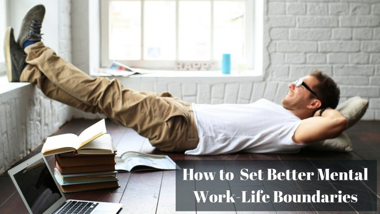How to set better mental work-life boundaries