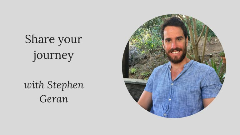 Share your journey: Stephen Geran