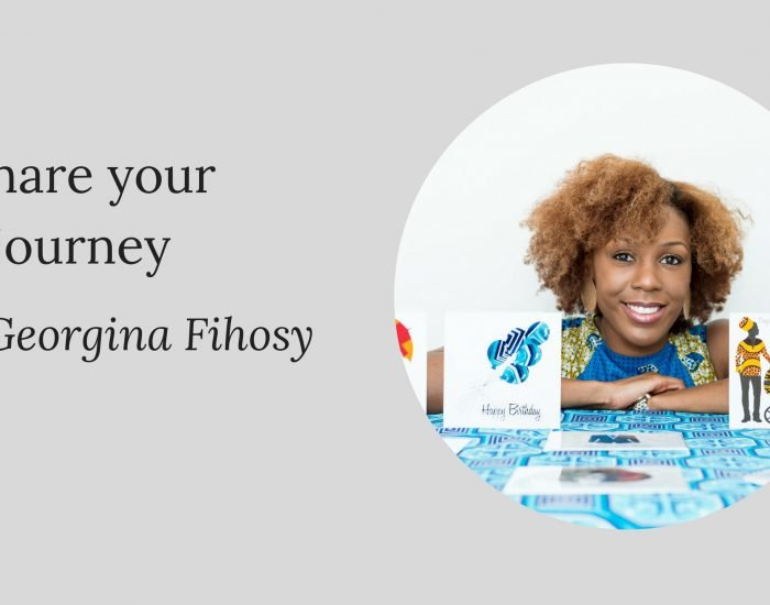 Share your journey: Georgina Fihosy