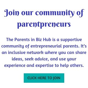 Parents in Biz online community