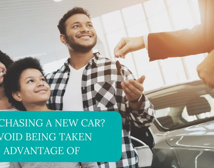 Purchasing A New Car? Avoid Being Taken Advantage Of