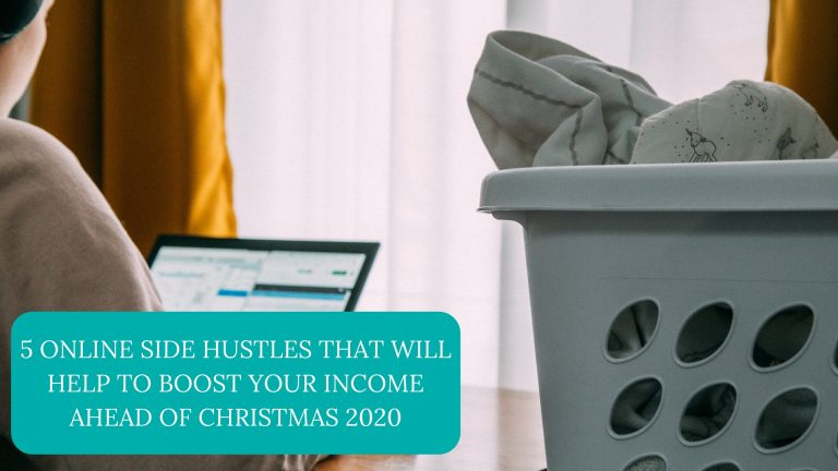 5 online side hustles that will help to boost your income ahead of Christmas 2020